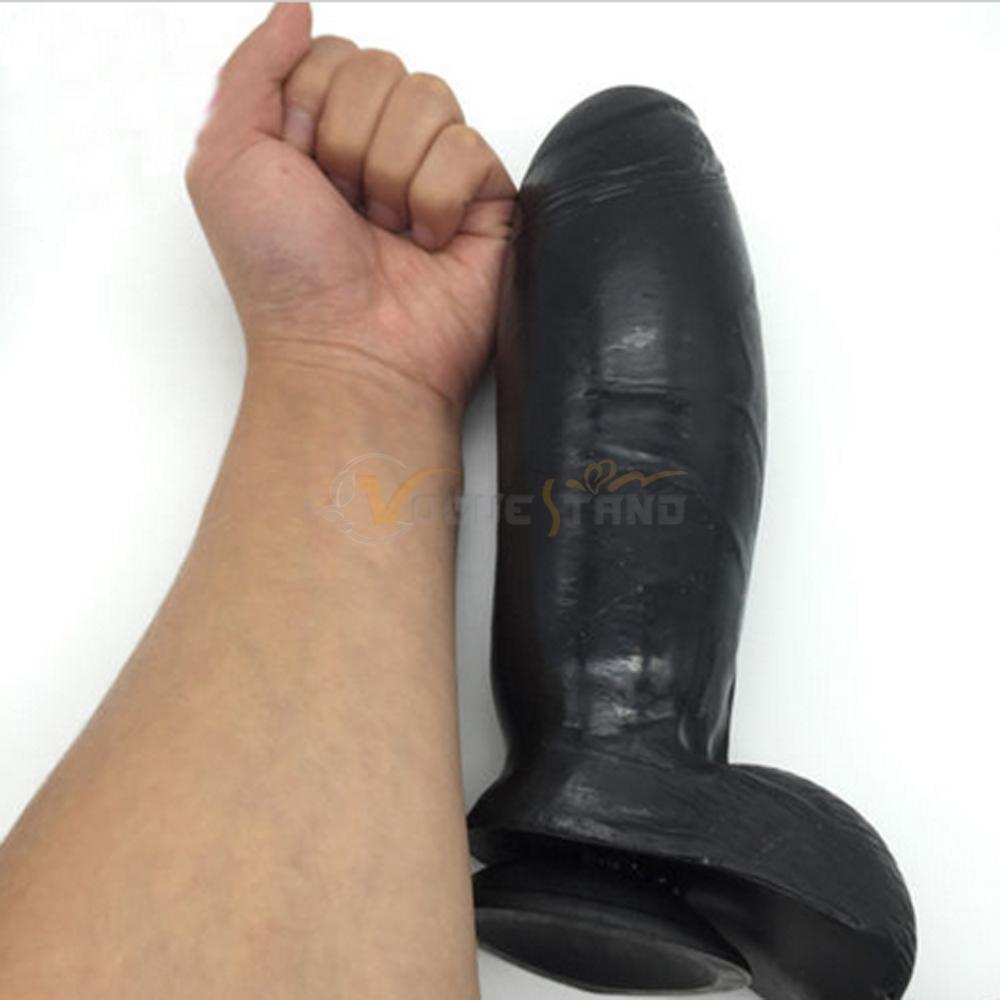 Black inflateable dildo